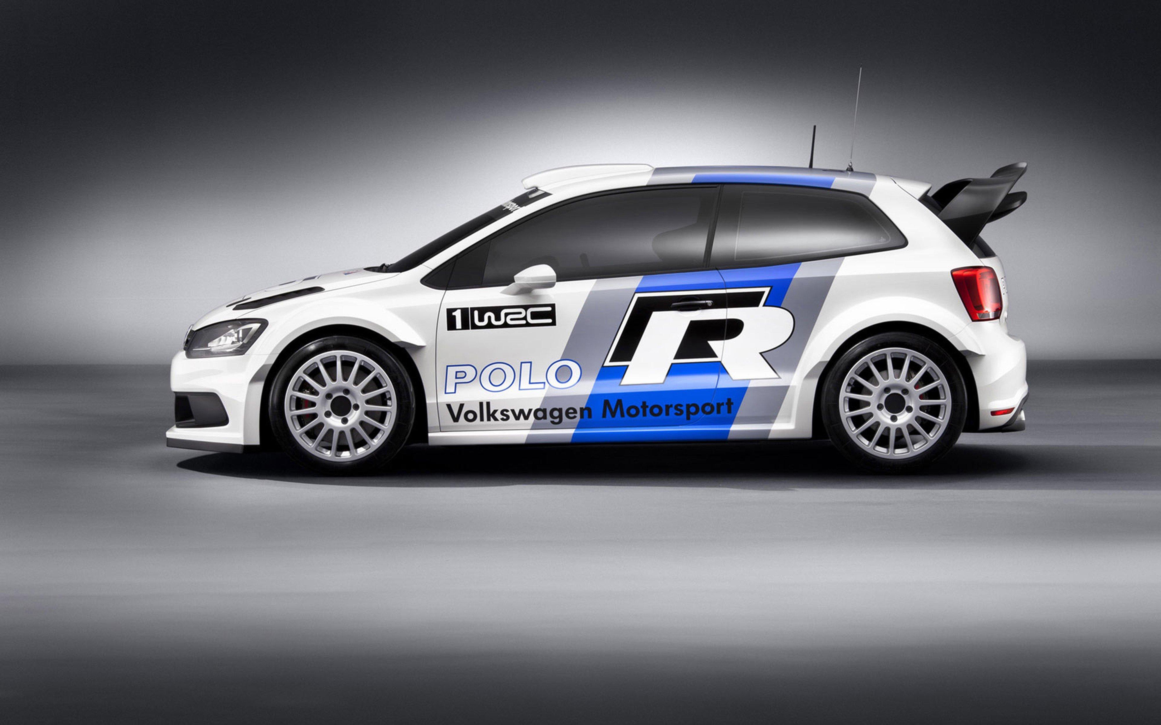 2011 Volkswagen Polo Wrc Concept Race Car Racing Rally