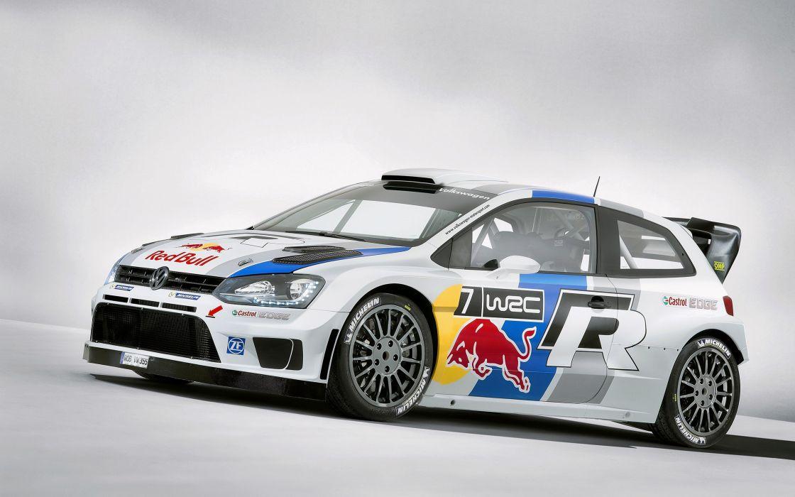 2013 Volkswagen Polo R-WRC Racing Rally Car Race 4000x2500 wallpaper