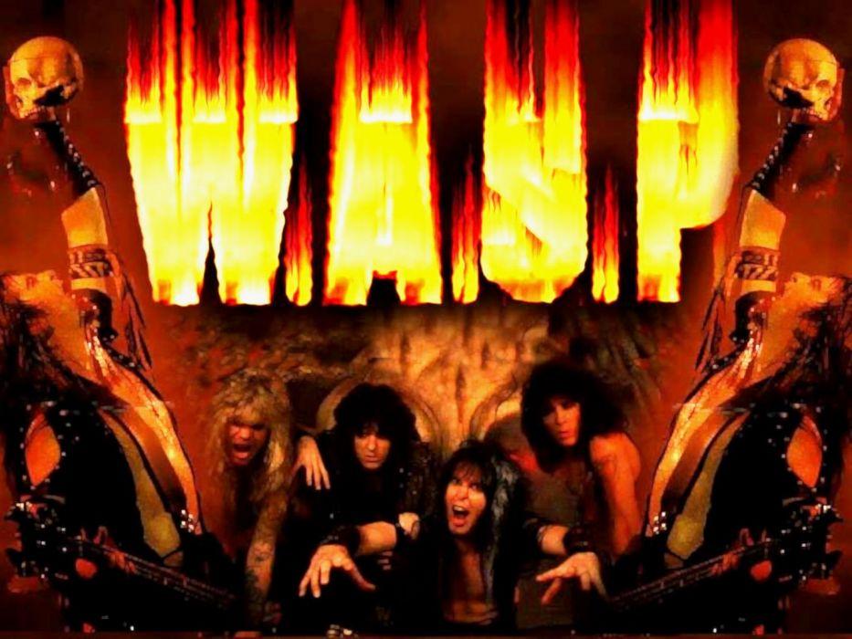 WASP heavy metal (4) wallpaper