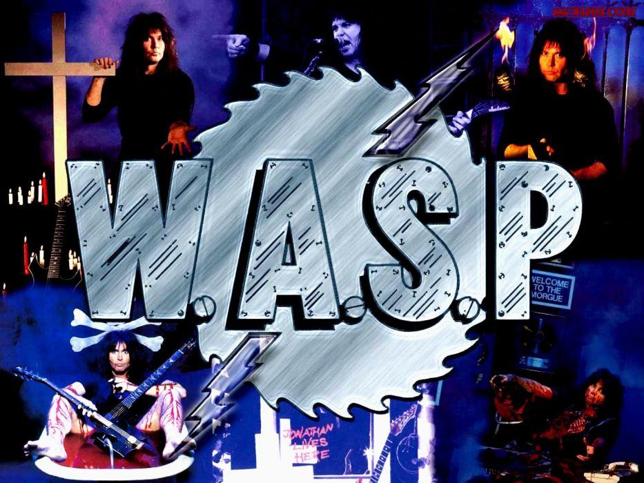 WASP heavy metal (15) wallpaper