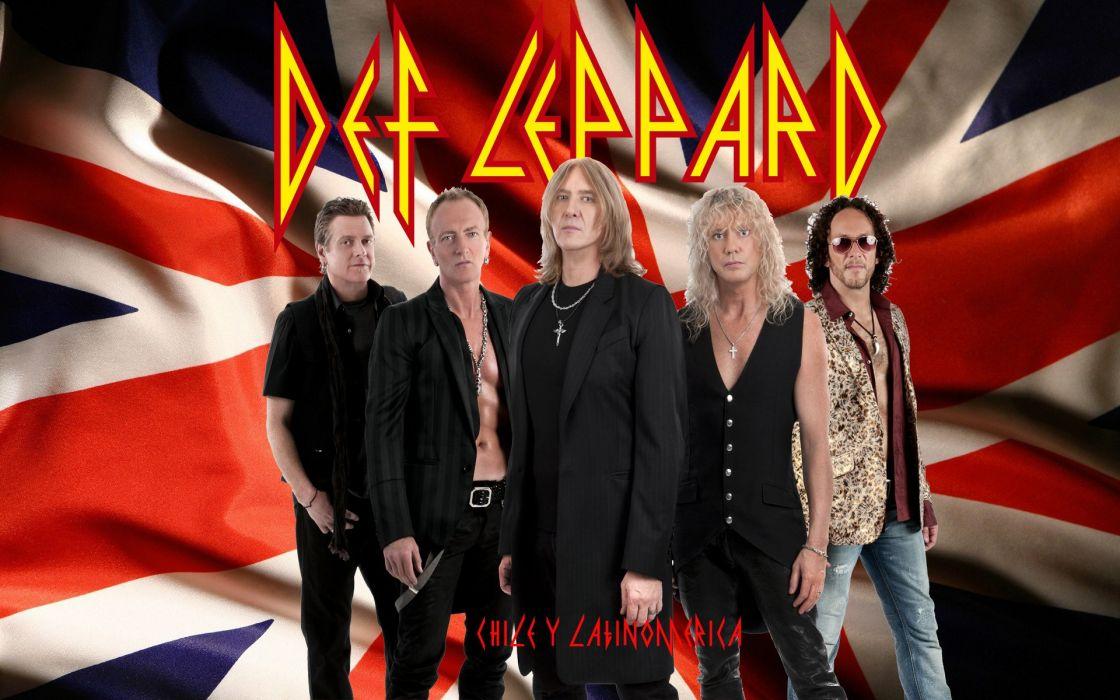 DEF LEPPARD hair metal heavy hard rock (3) wallpaper