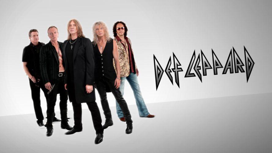 DEF LEPPARD hair metal heavy hard rock (8) wallpaper