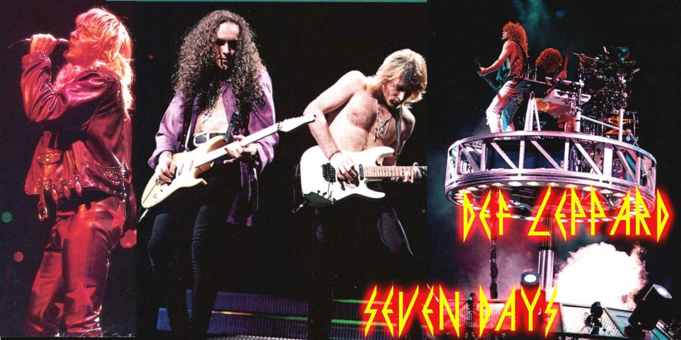 DEF LEPPARD hair metal heavy hard rock (20) wallpaper