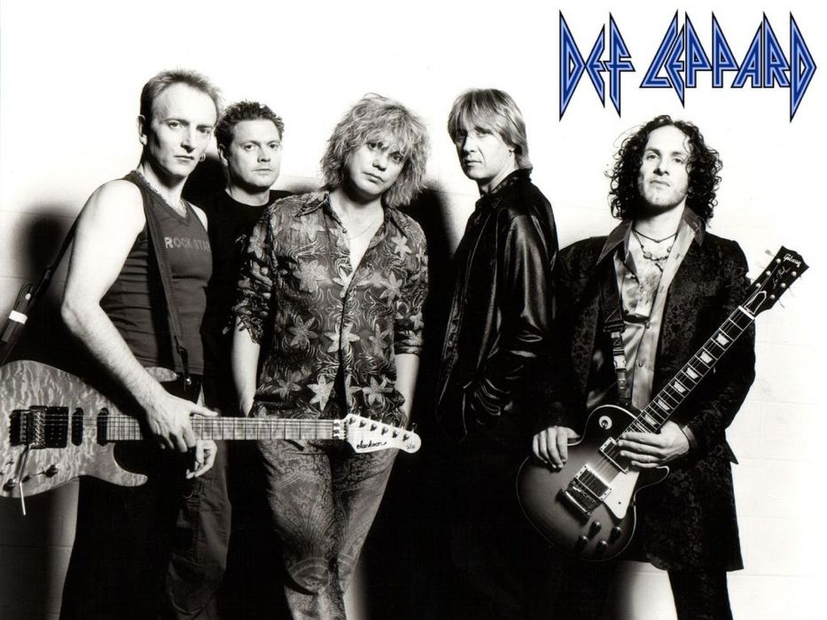 DEF LEPPARD hair metal heavy hard rock (40) wallpaper