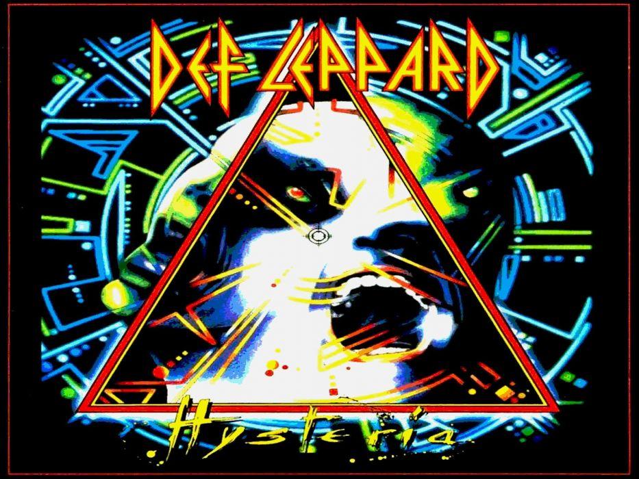 DEF LEPPARD hair metal heavy hard rock (45) wallpaper