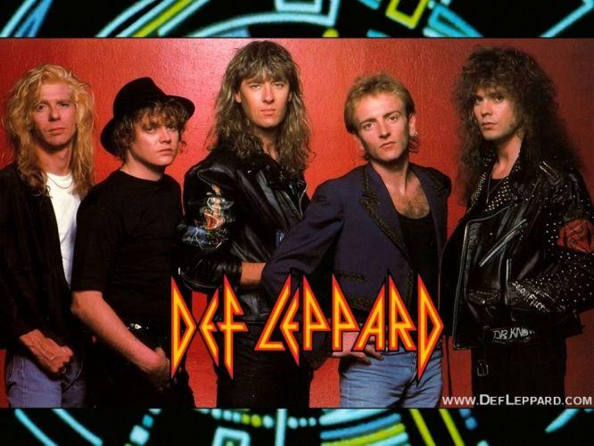 DEF LEPPARD hair metal heavy hard rock (54) wallpaper