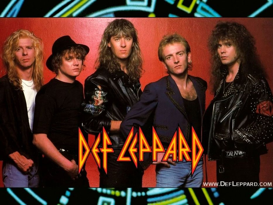 DEF LEPPARD hair metal heavy hard rock (54) wallpaper
