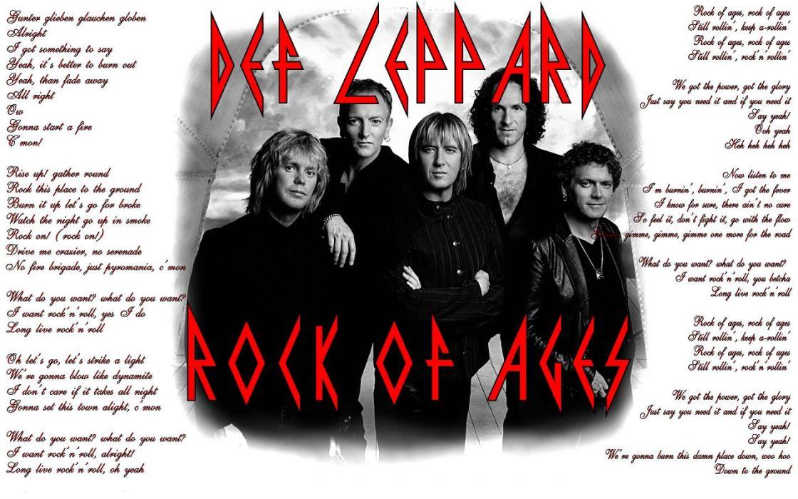 DEF LEPPARD hair metal heavy hard rock (63) wallpaper