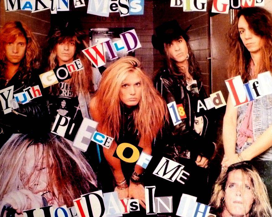 SKID ROW hair metal heavy (5) wallpaper