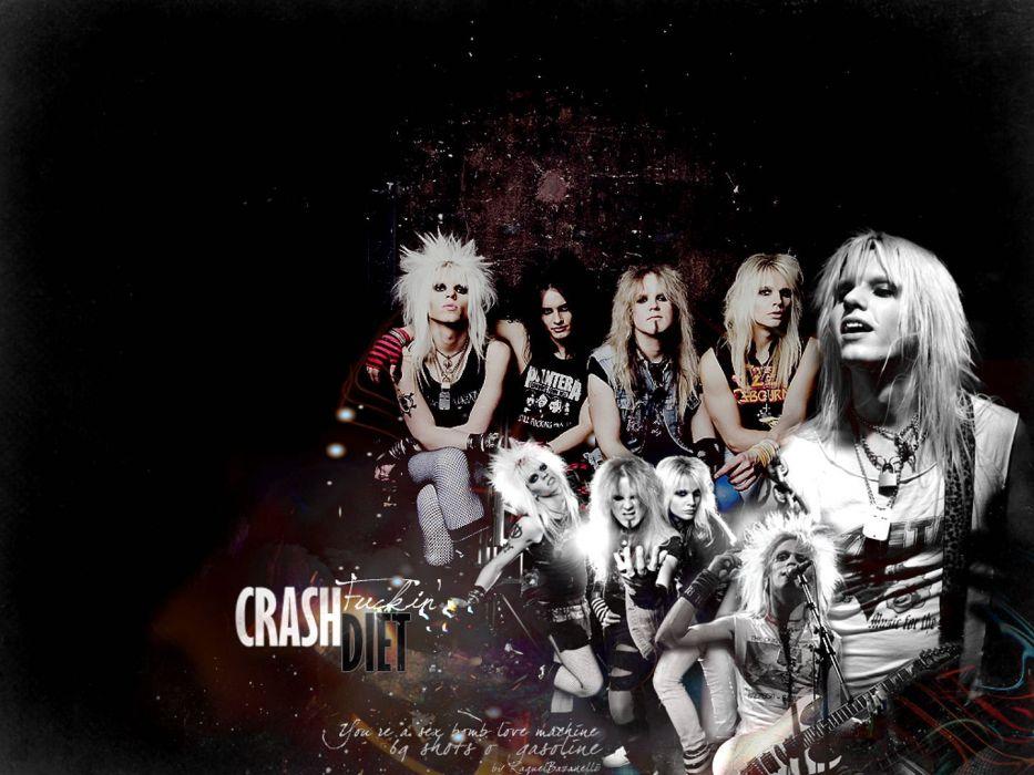 CRASHDIET glam hair metal heavy (10) wallpaper