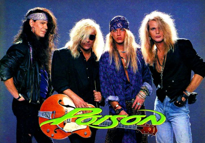 POISON hair metal heavy glam hard rock (2) wallpaper