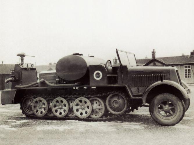 1939 Krauss Maffei KMm11 military retro tank apc g wallpaper