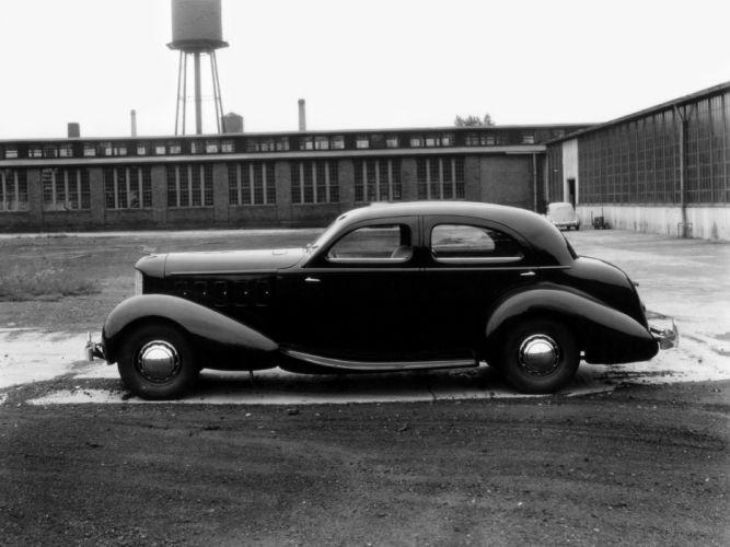 1936 Cord Duesenberg Limousine Prototype LeBaron retro luxury g wallpaper