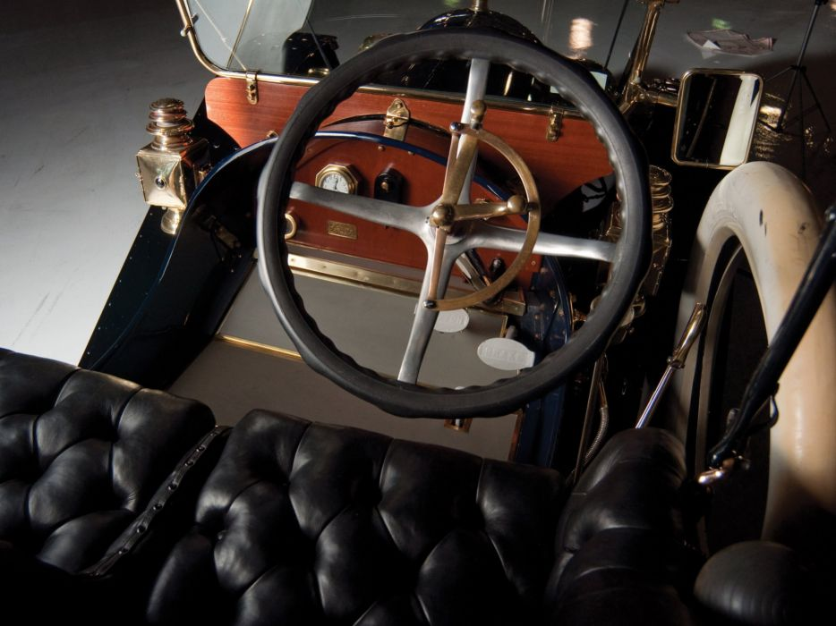 1911 Cadillac Model-30 2-door Demi Tonneau retro luxury interior    g wallpaper