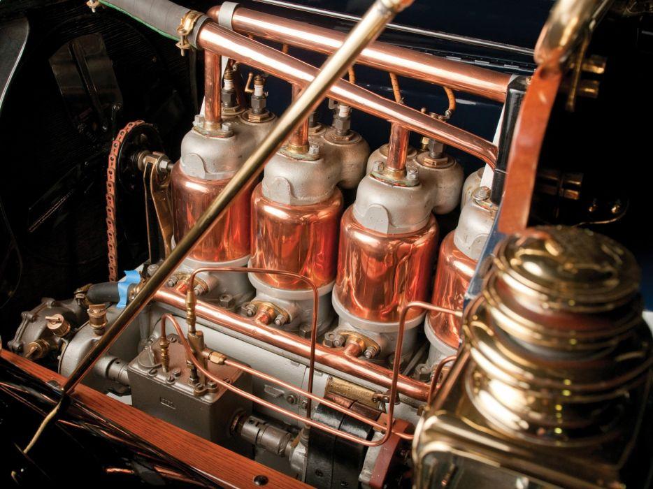 1911 Cadillac Model-30 2-door Demi Tonneau retro luxury engine   f wallpaper