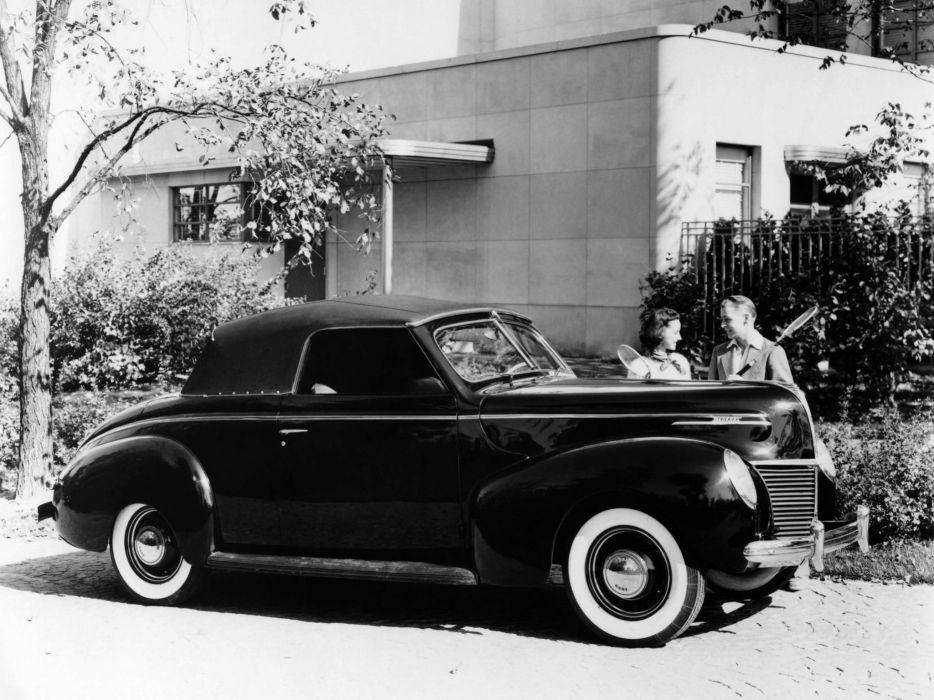 1939 Mercury Eight Convertible (99A) retro  t wallpaper
