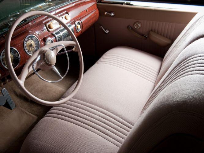 1941 Lincoln Continental Coupe (16H-57) luxury limosuine retro interior g wallpaper