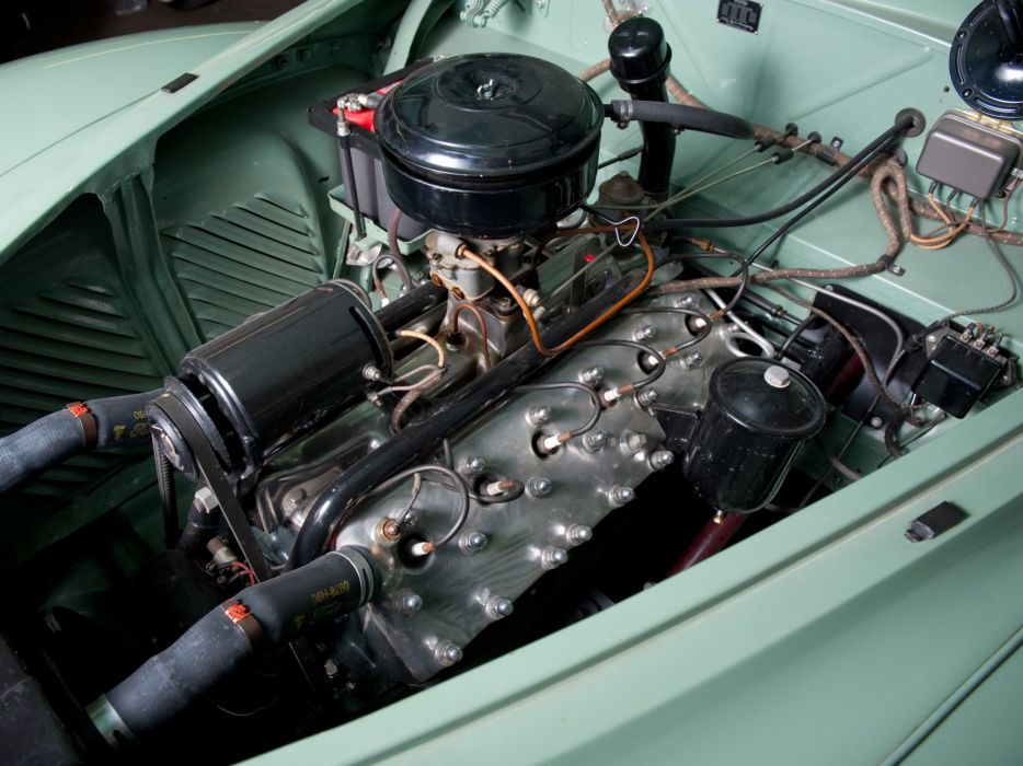 1941 Lincoln Continental Coupe (16H-57) luxury limosuine retro engine    g wallpaper