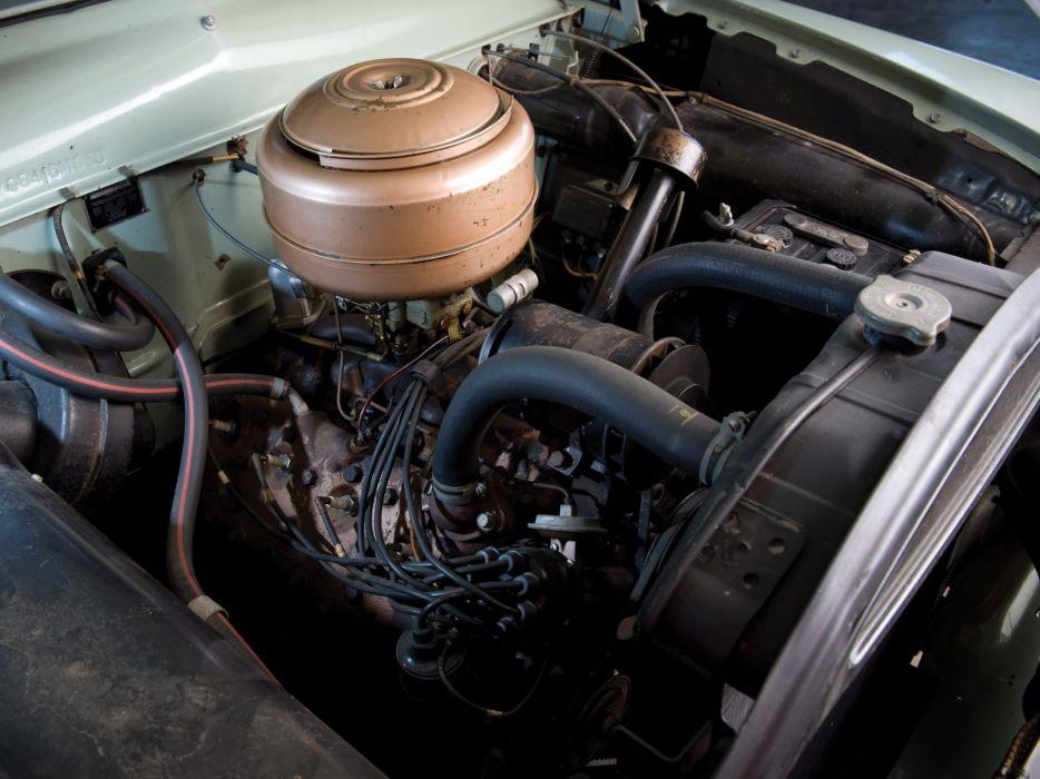 1950 Ford Custom Deluxe Tudor Sedan (70B) retro engine    g wallpaper