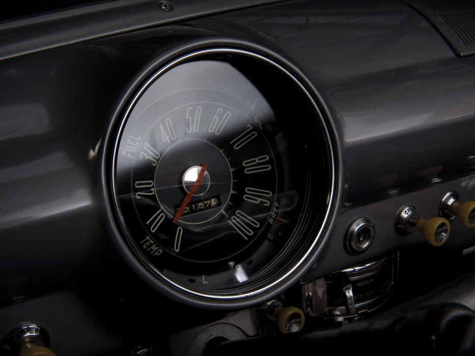 1950 Ford Custom Deluxe Tudor Sedan (70B) retro interior     g wallpaper