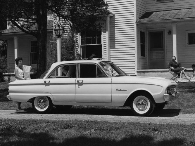 1960 Ford Falcon 4-door Sedan (58A) classic g wallpaper