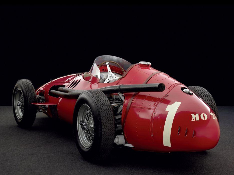 1954-60 Maserati 250F race racing  h wallpaper