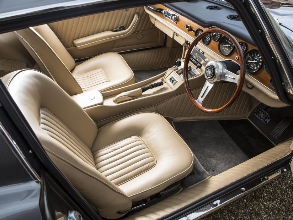 1965-70 Iso Grifo G-L UK-spec supercar classic interior    g wallpaper