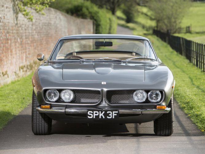 1965-70 Iso Grifo G-L UK-spec supercar classic e wallpaper