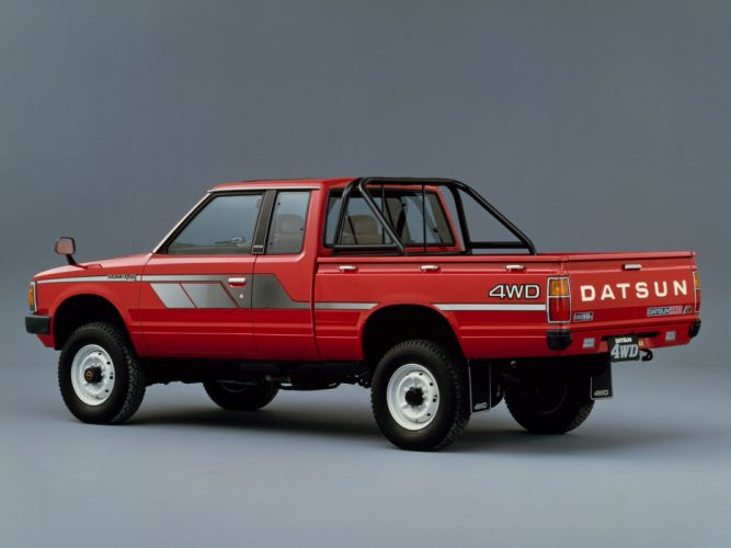 1982 Datsun Pickup 4WD King Cab JP-spec (720) nissan gg wallpaper
