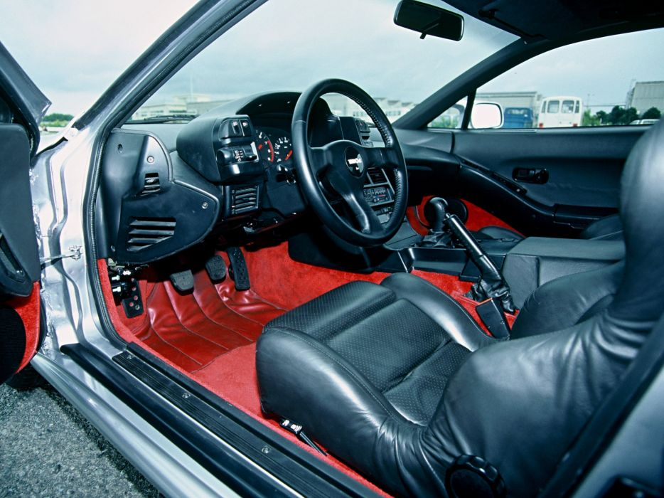 1987 Nissan Mid4 Type-II Concept supercar interior     f wallpaper