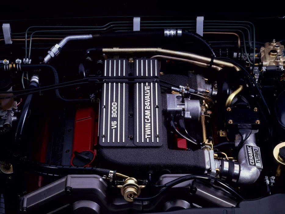 1988-91 Nissan Cedric Cima luxury engine       f wallpaper
