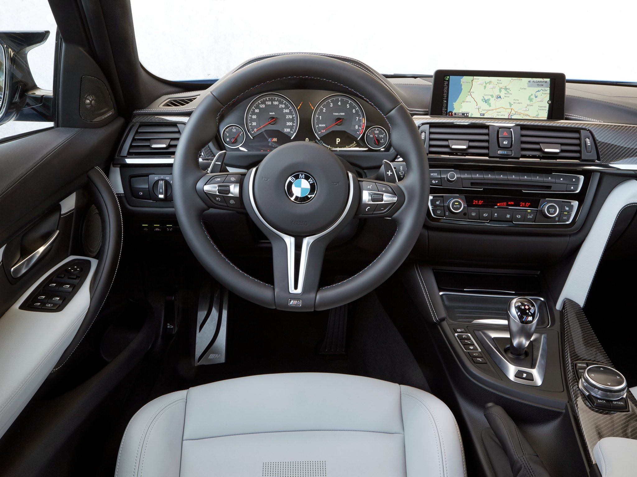 2014 Bmw M 3 F80 Interior G Wallpaper 2048x1536