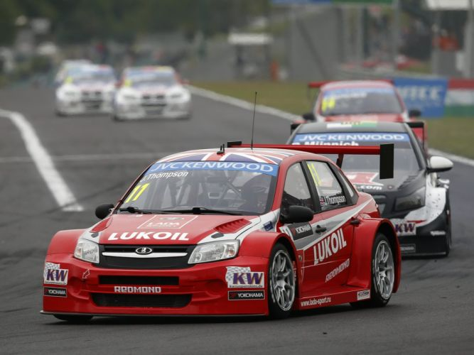 2014 Lada Granta TC1 WTCC 2190 race racing h wallpaper