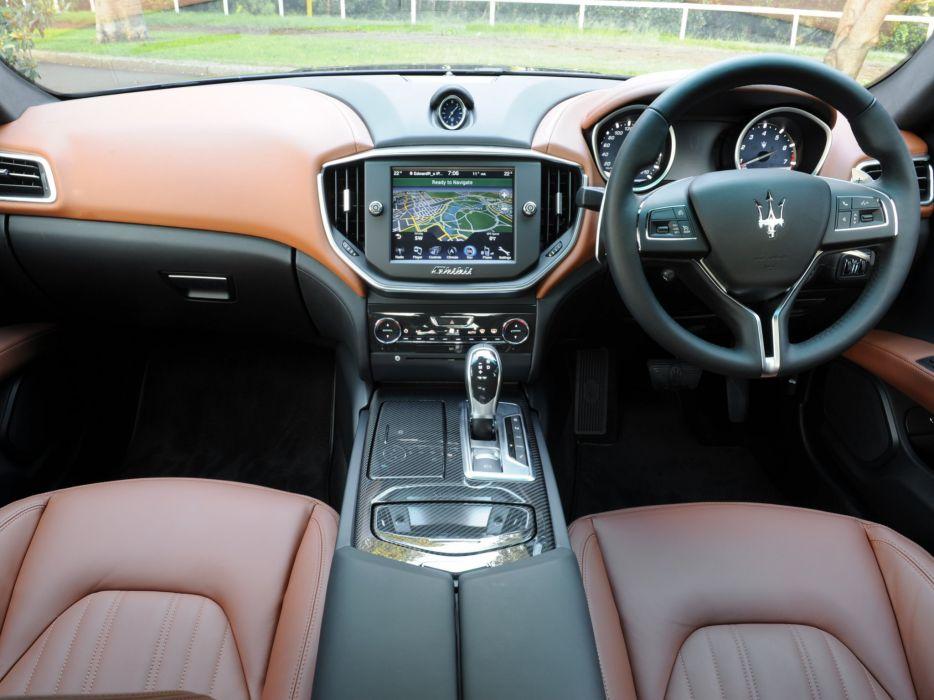 2014 Maserati Ghibli AU-spec interior g wallpaper | 2048x1536 ...