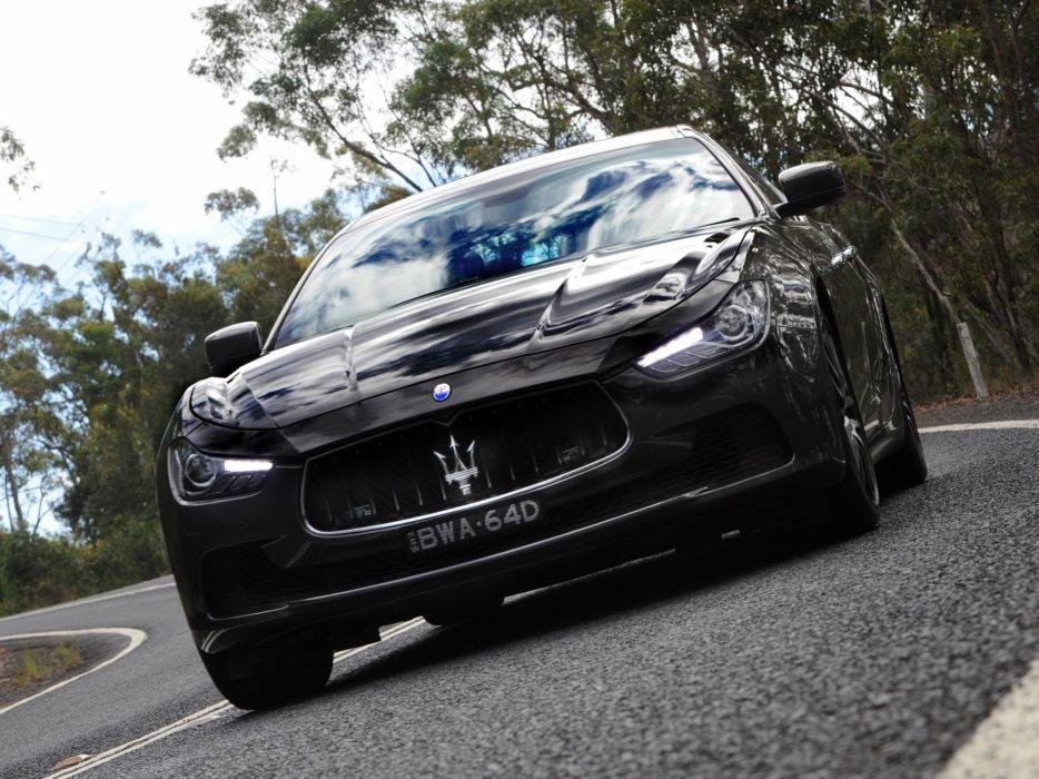 2014 Maserati Ghibli AU-spec  r wallpaper