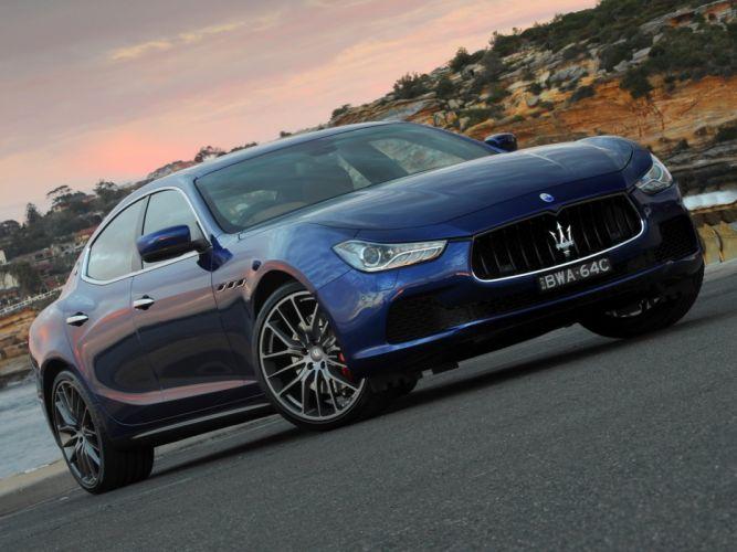 2014 Maserati Ghibli AU-spec t wallpaper