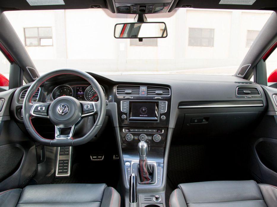 2015 Volkswagen Golf GTI 5-door US-spec (Typ-5G) interior   h wallpaper