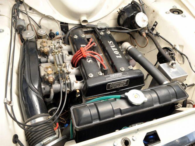 1963-66 Ford Cortina Lotus (MkI) race racing classic lotus engine f wallpaper
