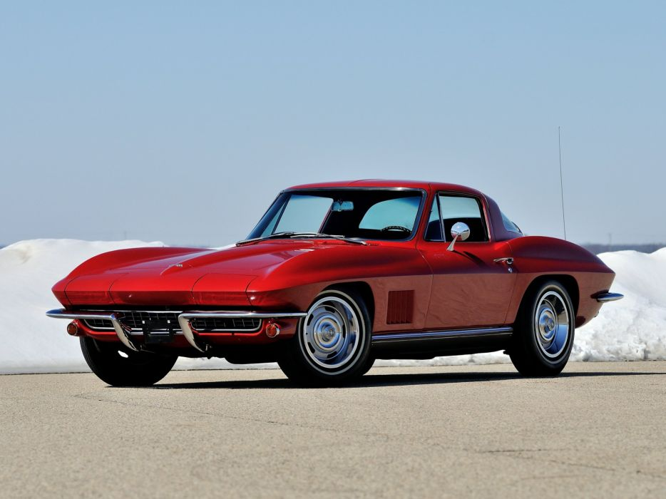 1967 Chevrolet Corvette Sting Ray L79 327 350HP (C-2) supercar muscle classic stingray   f wallpaper