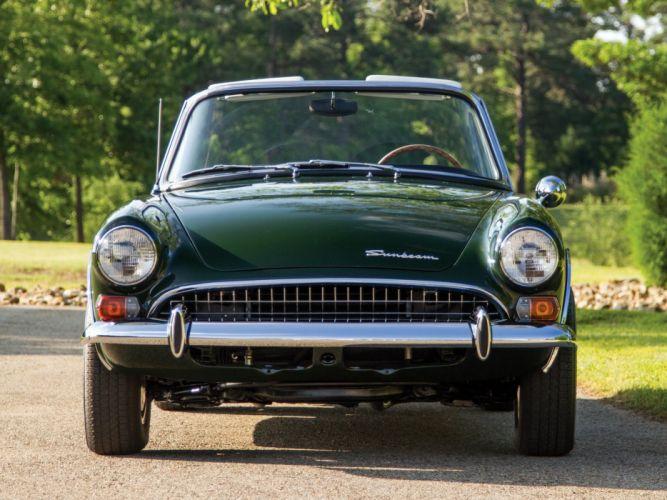 1967 Sunbeam Tiger-II classic convertible tiger d wallpaper