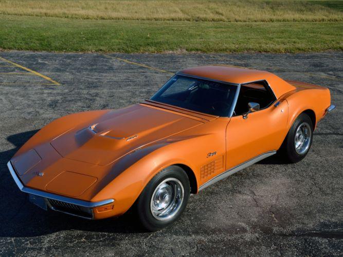 1971 Chevrolet Corvette Stingray ZR-2 LS6 454 Convertible (C-3) supercar muscle classic r wallpaper