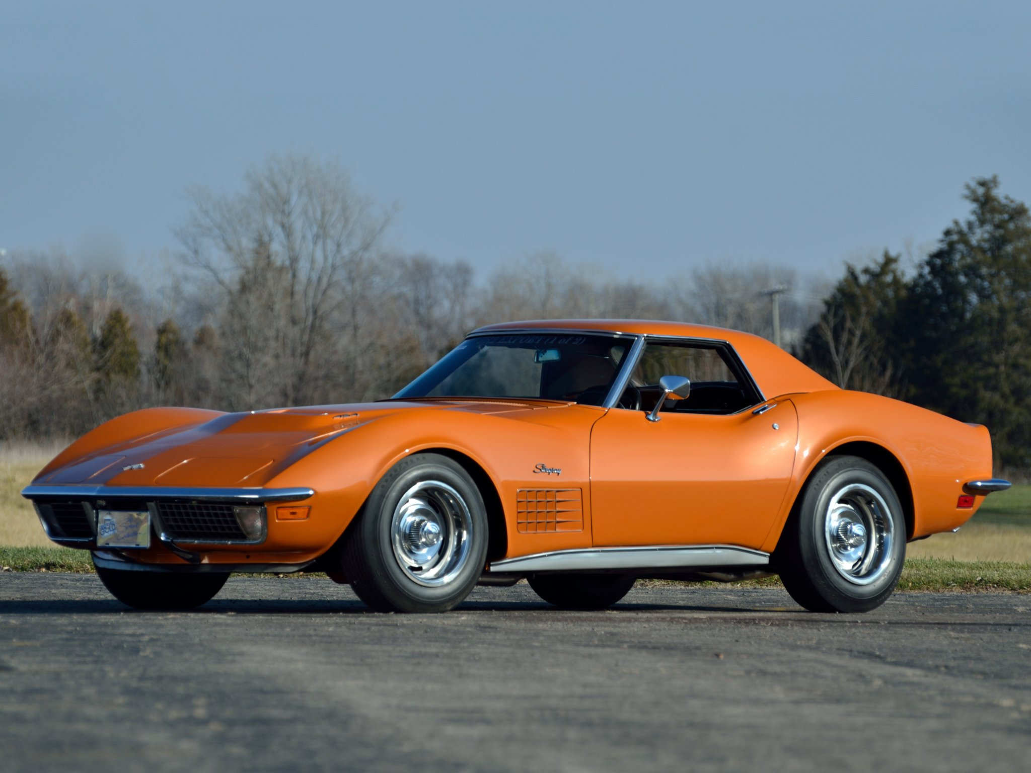 1971 Chevrolet Corvette Stingray ZR-2 LS6 454 Convertible ...