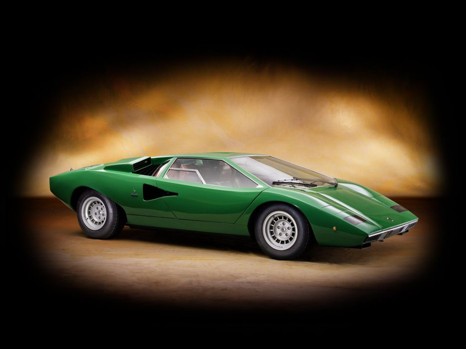 1972 Lamborghini Countach LP500 Prototype supercar classic     f wallpaper