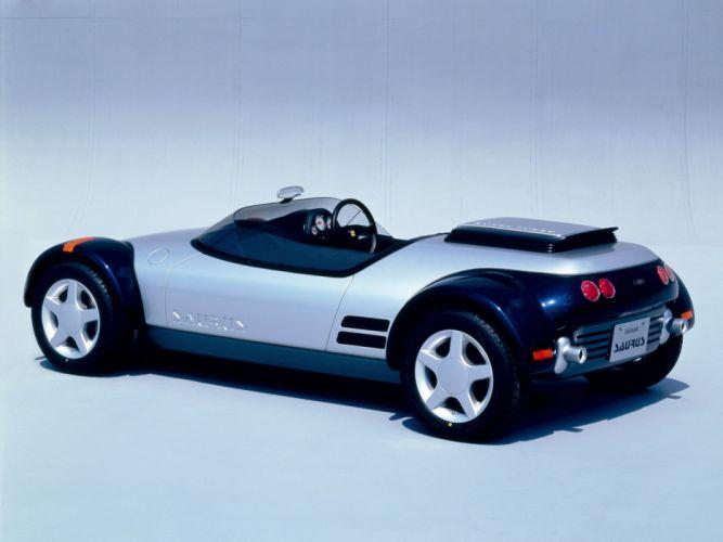 1987 Nissan Saurus Concept supercar s wallpaper