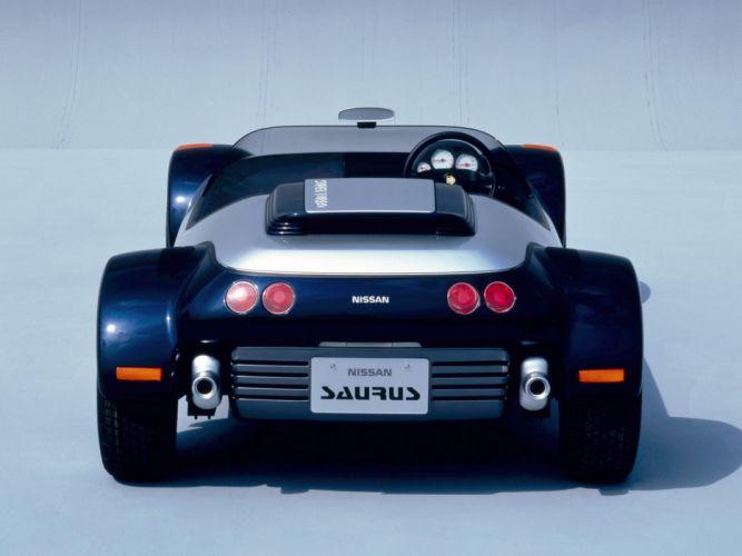 1987 Nissan Saurus Concept supercar f wallpaper