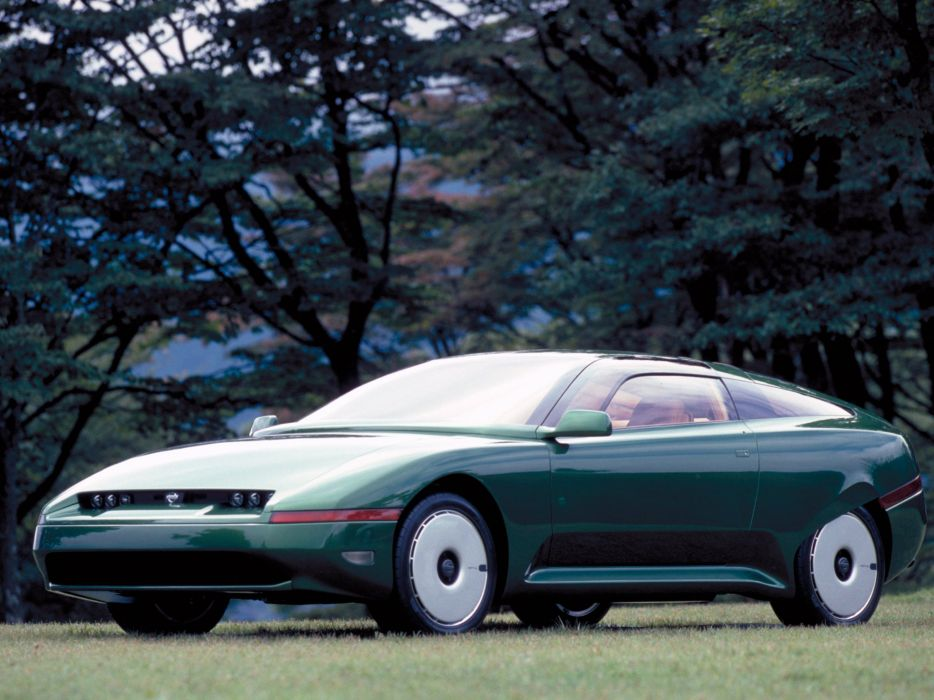 1993 Nissan AP-X Concept supercar      f wallpaper