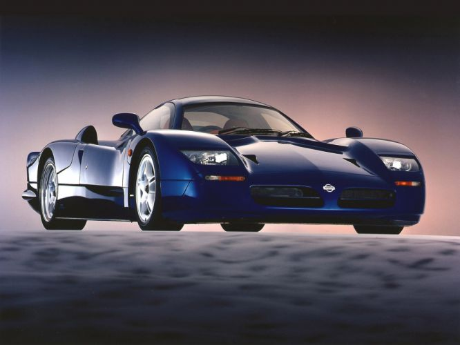 1998 Nissan R390 GT1 Road Version supercar race racing fs wallpaper