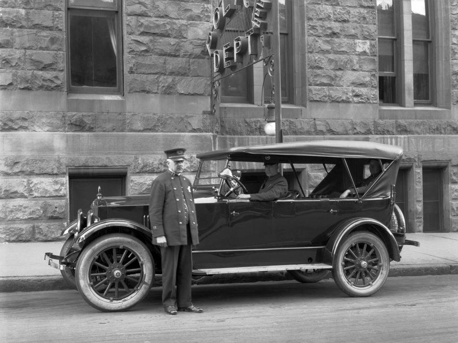 1920 Studebaker Big Six Model-EG Touring retro police emergency    f wallpaper