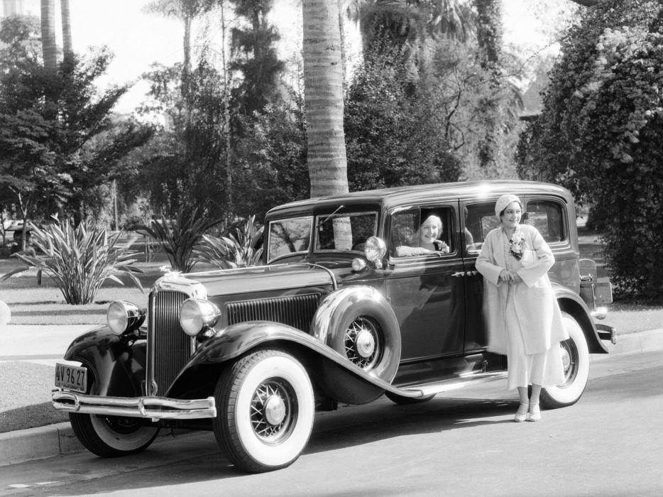 1931 Chrysler Imperial Sedan Limousine (C-G) luxury retro     f wallpaper