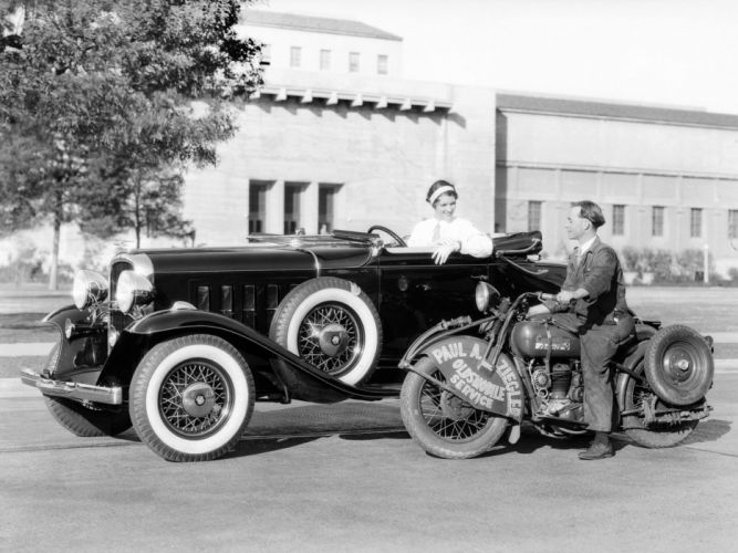 1932 Oldsmobile Eight Series-L Roadster (32-LCR) retro f wallpaper